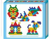 Мозаика магнитная (шестигранные фишки), 175 штук, Десятое королевство
