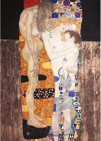 """Пазл """"три возраста женщины. климт"""", 1000 элементов, Clementoni"""