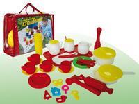 """Детский кухонный набор """"столовый"""" (52 предмета), Совтехстром (Спектр)"""