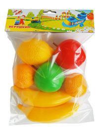 Набор фруктов, Пластмассы