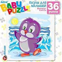 """Пазл """"пингвиненок. антарктида"""", 36 элементов, Астрель"""