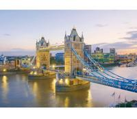 "Пазл ""тауэрский мост. англия"", 1000 элементов. арт. 39022, Clementoni"