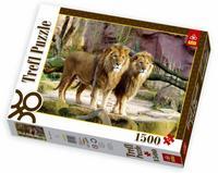 """Пазл """"львы"""", 1500 деталей, Trefl"""
