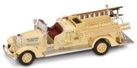 """Коллекционная модель """"пожарная машина ahrens-fox vc fire engine"""", Yat Ming"""