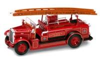 Коллекционная модель. пожарная машина leyland fk-1, Yat Ming