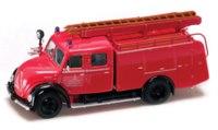 Коллекционная модель. пожарная машина magirus-deutz merkur tlf16, Yat Ming