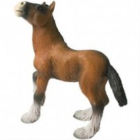 "Фигурка ""жеребенок шайрской породы"", 8 см, Bullyland"