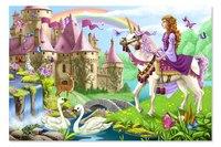 """Напольный пазл """"волшебный замок"""", Melissa & Doug"""