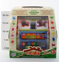 """Развивающая музыкальная игрушка """"теремок"""" (8 функций). арт. 9196, Play Smart (Joy Toy)"""