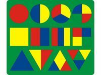 Мозаика большая с геометрическими фигурами, Флексика