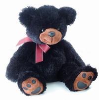 Медведь чёрный, 50 см, AURORA (Аврора)