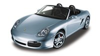 Модель машины 1:24 porsche boxster s, convertible, Welly