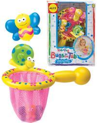 """Игрушки для ванной """"поймай бабочку"""", 4 предмета, Alex"""