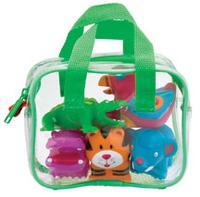 """Игрушки для ванной """"джунгли"""", 5 штук в сумке, Alex"""