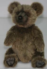 Медведь серебристый (28 см), Hansa (Ханса)