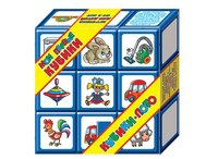 """Набор кубиков-лото """"мои первые кубики"""", 9 штук, Десятое королевство"""
