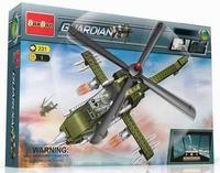 """Конструктор """"военный вертолет"""", 231 деталь, BanBao"""