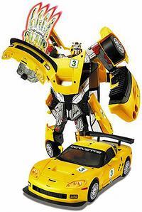 """Робот-трансформер """"chevrolet corvette c6r"""". арт. 52070, Happy Well"""