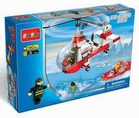 """Конструктор """"пожарный вертолет"""", 155 деталей. арт. 8305, BanBao"""