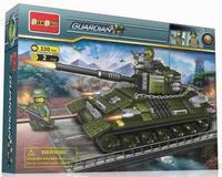 """Конструктор """"танк"""", 330 деталей, BanBao"""