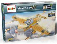 """Конструктор """"военный самолет"""", 190 деталей, BanBao"""