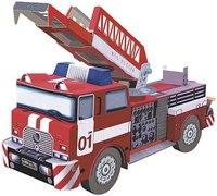 """Сборная игрушка из картона """"пожарная машина"""", Умная бумага"""