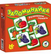 """Игра """"запоминайка. овощи и фрукты"""", Дрофа-Медиа"""