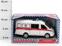 Инерционный микроавтобус «скорая помощь», Play Smart (Joy Toy)