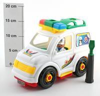 """Конструктор пластиковый """"скорая помощь"""", Play Smart (Joy Toy)"""