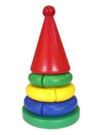 Пирамидка «логика» кроха (конус), Строим вместе счастливое детство