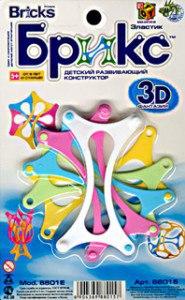 "Конструктор-3d ""брикс"". арт. jh8801e, Bricks"