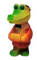Крокодил-гармонист, Огонек