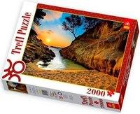 Пазл «восход солнца, коста-брава, испания», 2000 элементов, Trefl