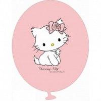 """8 шариков с рисунком """"hello kitty"""", Everts"""