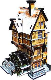 """3d puzzle """"водяная мельница"""" (зима), Умная бумага"""