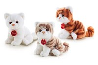 "Котенок серо-белый ""брэд"" (24 см), Trudi"