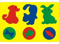 """Мозаика """"животные в рамке"""", Флексика"""