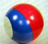Мяч лакированный с кружками, Чебоксарский завод