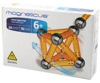 Магнитный конструктор желтый, 34 элемента, Magneticus