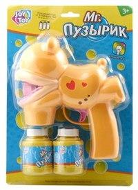 """Водный пистолет с мыльными пузырями """"mr. пузырик"""". лягушка, Play Smart (Joy Toy)"""
