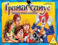 """Игра настольная """"гримассимус"""" (школа юных клоунов), Piatnik"""