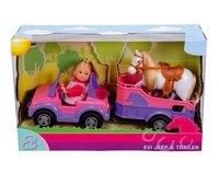 """Игровой набор """"кукла еви и трейлер с лошадкой"""", Simba (Симба)"""