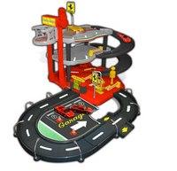 """Игровой набор """"ferrari"""" парковочный гараж (с 2 машинками), Bburago (Ббураго)"""
