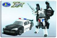 """Трансформер x-bot """"полиция"""", Happy Well"""