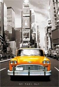 """Пазл """"такси, нью-йорк"""" (1000 элементов), Educa"""