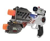 """Игрушка детская """"лазерный пистолет m.a.r.s. assault"""" (серебристый), Happy Kid"""