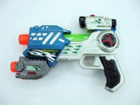 """Игрушка детская """"лазерный пистолет m.a.r.s. assault"""" (синий), Happy Kid"""