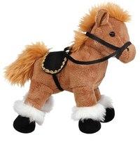 Лошадка коричневая стоячая, 28 см, Gulliver (Гулливер)