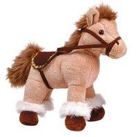Лошадка бежевая стоячая, 28 см, Gulliver (Гулливер)