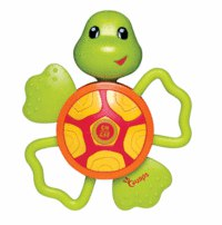 """Развивающая игрушка """"черепаха"""" с прорезывателями, со звуковыми эффектами, Ouaps"""